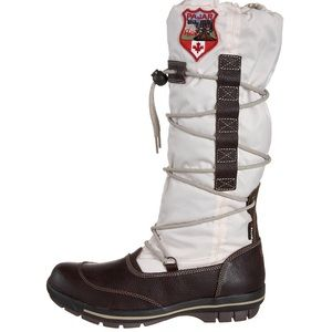 Pajar Bomba Winter/Snow Boots, Drk Brown Off White